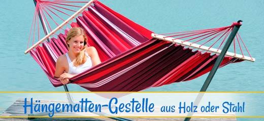 Hängematten-Gestelle | http://www.haengematten-oase.de